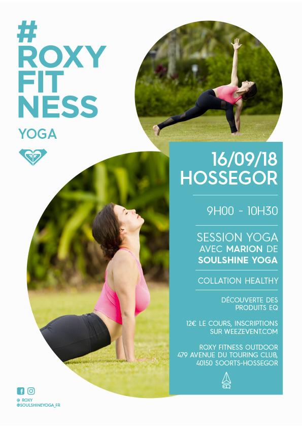 Roxy Yoga Hossegor - 16 Septembre - Soulshine