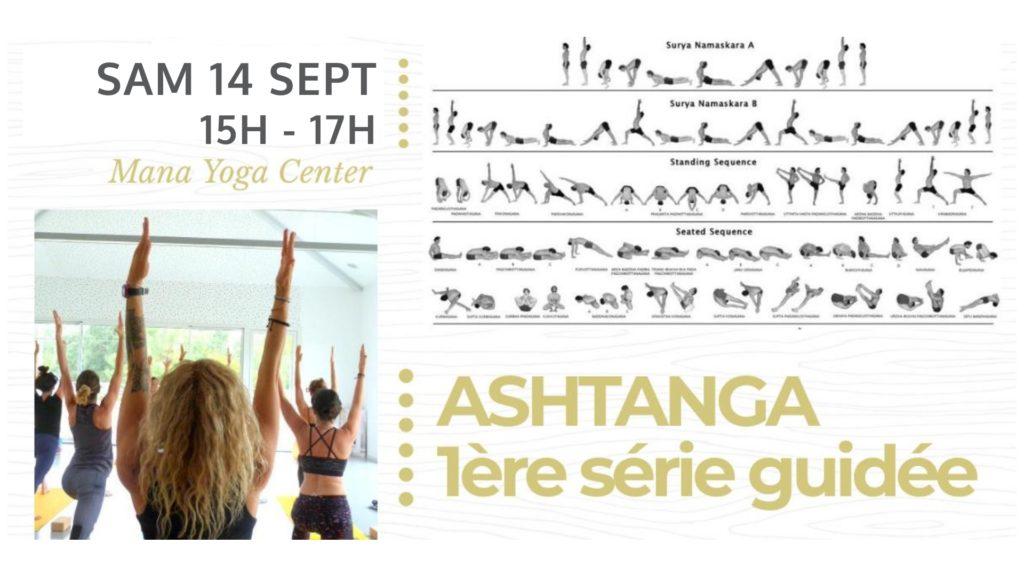 Ashtanga 1ere série guidée 14 septembre Mana Yoga Hossegor Soulshine