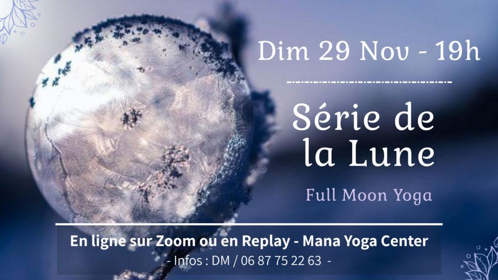Serie de la Lune 29 Novembre 20 - Soulshine Yoga Mana Hossegor
